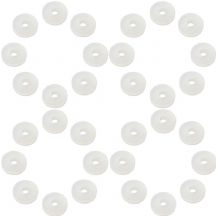 Pack of 32 Acousti AP-1003W-C Clear Anti-Vibration Silicone Washers